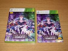 VAMPIRE RESURRECTION - XBOX 360 X360 - NTSC JAPAN JAP JP - DARKSTALKERS CAPCOM