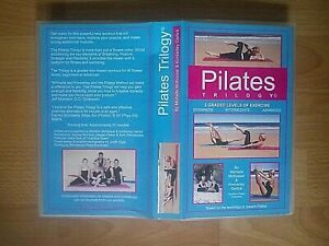 Pilates Trilogy VHS Video - Beginners / Intermediate / Advanced