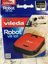 Vileda Robot VR 101 Vacuum Cleaner with Instructions and Charger