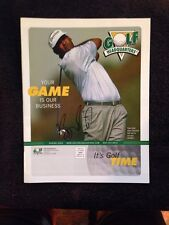New listing Vijay Singh Signed Autographed Magazine Golf Headquarters- Single Auto
