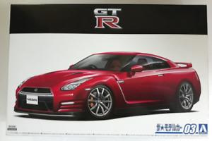 Aoshima 2014 Nissan R35 Skyline GT-R in 1/24 58572