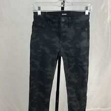 Hudson Midrise Nico womens pants jeans size 26 black Super Skinny stretch