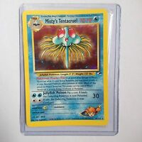 Misty's Tentacruel Holo Pokemon Card 10/132 Gym Heroes Near Mint Minus (NM-)