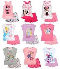 Pyjamas manches courtes pour fille de 2 à 16 ans