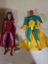 Marvel Legends Vision & Scarlet Witch toybiz Wandavision lot of 2