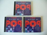 "Albumkonv. ""The History of Pop"" Nr.2-4 / 3 Alben CD (Kon. Nr.717)"