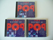 "Albumkonv. ""The History of Pop"" Nr.2-4 / 3 Alben CD (Kon. Nr.717)"