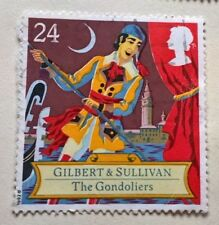 Great Britain stamps - Gilbert & Sullivan - The Gondoliers 24p 1992 - FREE P & P
