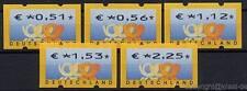 BUNDESREPUBLIK BUND - 2002 AUTOMATENMARKEN ATM 4 EURO WERTE - VS 2 **
