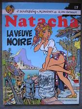 BD natacha n°17 la veuve noire EO 1997 TBE walthery