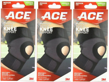 ACE Moisture Control Knee Support, Medium ( 3 Pack)