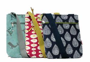 Lua Cotton Handmade Messenger Bag Various Designs