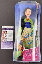 MING-NA WEN signed Disney Princess Figure Doll Toy MULAN Hasbro JSA Authentic