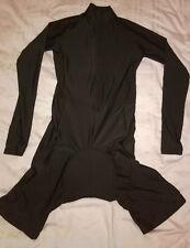 Medium Ladies Black Cycling Skinsuit - Long Sleeved
