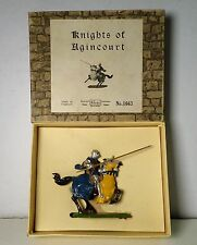 Britains Set #1663 Mounted Knight of Agincourt Charging w/ Lance & Box