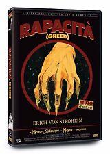 DVD Rapacita' (Ed. Limitata E Numerata) COPIE  MUTO D'AUTORE Erich Von Stroheim