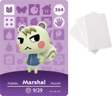 Marshal Animal Crossing Amiibo NFC Card - Or PICK ANY VILLAGER!