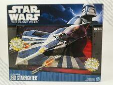 Star Wars The Clone Wars 2010 Starfighter Vehicle PLO Kloon's Jedi Starfighte