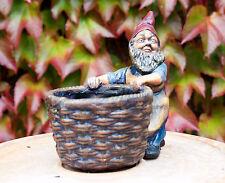 Heissner Gnome with basket- German Gartenzwerg - Heissner -1920
