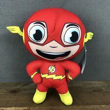 "DC Comics Superfeiends The Flash 12"" Plush Stuffed Animal Warner Brothers NEW"
