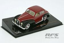 Hotchkiss Anjou - schwarz / bordeaux rot - Baujahr 1951 - 1:43 - IXO CLC 185