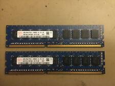 2 x 4G Hynix DDR3 DIMM (PC3-10600E / 1333MHz) HMT351U7BFR8A-H9