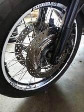 ADESIVI CERCHIONI MOTO wheels stickers lateral kit standart stripes per BMW