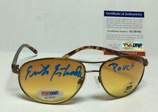 "Erik Estrada Signed Aviator Sunglasses *CHiPs ""Ponch"" PSA AC16791"