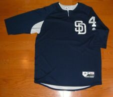 SAN DIEGO PADRES WIL MYERS GAME USED WORN 2018 PREGAME BATTING PRACTICE JERSEY