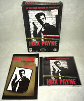 Max Payne - PC Small Box CD-ROM Computer Game CIB!