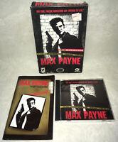 Max Payne - PC Small Box CD-ROM Computer Game CIB!