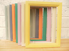 Photo Frame/Picture Frame/Pine/8 Colours/Retro/Vintage/Shabby Chic/ 3 Sizes