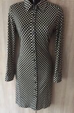 BEAUTIFUL DIANE VON FURSTENBERG BUTTONED WOMEN DRESS US 8 UK 12