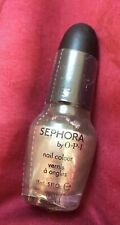 Sephora by Opi~Vernis a' ongles~ Metallic Silver Mail Polish~New~Sealed .5 Fl ox