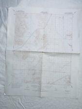 New ListingSoda Lake California 1956 Vintage Usgs Topographic Quadrangle Map Sb County