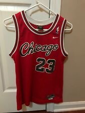 Jordan Bulls Vintage Jersey Size Youth M Authentic Used