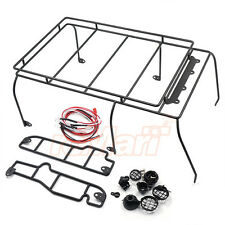 Xtra Speed Metal Cage Roof Luggage Tray w/LED RC4WD D90 RC Cars Body #XS-59497