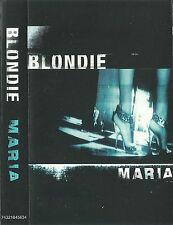 BLONDIE MARIA CASSETTE SINGLE 2 TRACK DEBBIE HARRY Breakbeat House Synth-pop