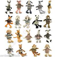 "Air Puppy Hickory Shack 10"" Inch 26 cm Soft Toy Animal Plush Teddy"