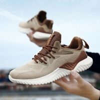 Men's Running Sneakers Shoes Outdoor Sports Breathable Casual Shoes Plus Size