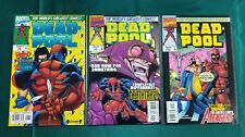 Deadpool (1997) #8,9,10 First Print Love Hurts Blood Spurts Kelly McGuinness VF