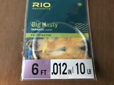 Rio Big Nasty Tapered Leader 6 FT 10lb
