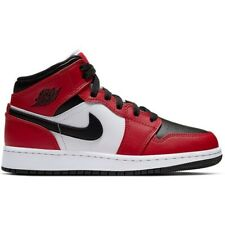 Nike Air Jordan 1 Mid | Chicago Black Toe (GS) | US 4 Y  EU 36 UK 3.5