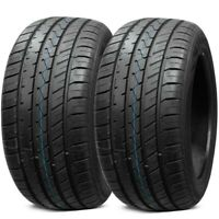 2 New Lionhart LH-Five 285/35ZR20 104Y All Season Ultra High Performance Tires