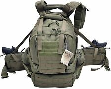 Ultimate Deluxe Tactical Assault 3-Day 72 Hours Survival Pack Backpack OD COLOR