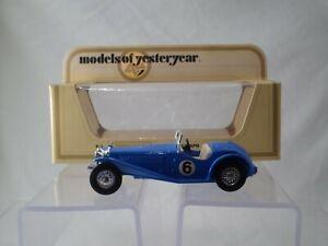MATCHBOX - MODELS OF YESTERYEAR - Y3 1934 RILEY M.P.H. - 1979 - MINT MODEL