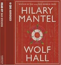 HILARY MANTEL WOLF HALL NEW SEALED AUDIOBOOK 6 DISCS CD DAN STEVENS AUDIO BOOK