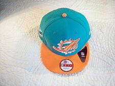Miami Dolphins New Era 9Fifty NFL Historic 89-96 Baycik Snapback Baseball Cap