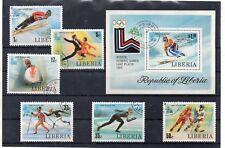 Liberia Juegos Olimpicos de Lake Placid año 1980 (DK-271)
