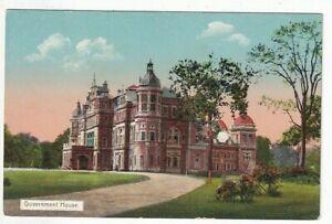 An Early D.A. Ahuja Post Card of Government House, Rangoon. Burma.